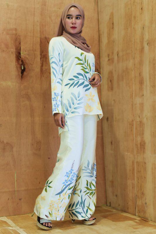 PEMA in White Florals
